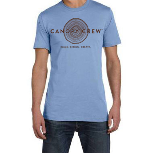 """Men's and Women's """"Cribs in the Twigs"""" Canopy Crew Tee"""