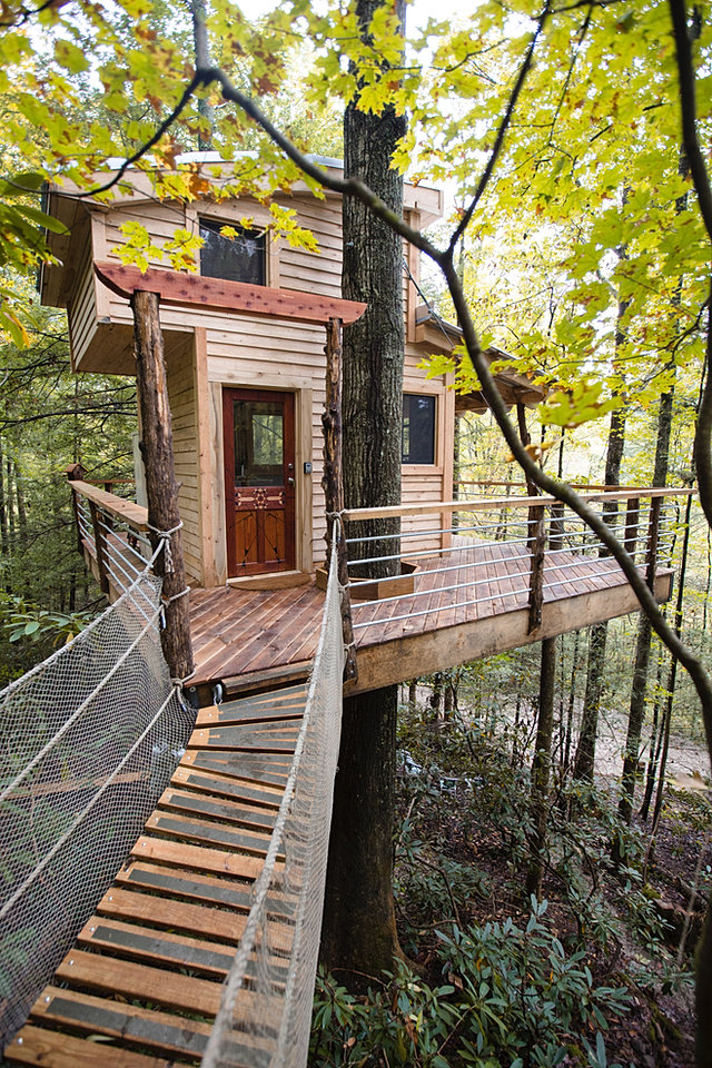 THE SYLVAN FLOAT & The Canopy Crew | Tree House Rentals | Red River Gorge KY