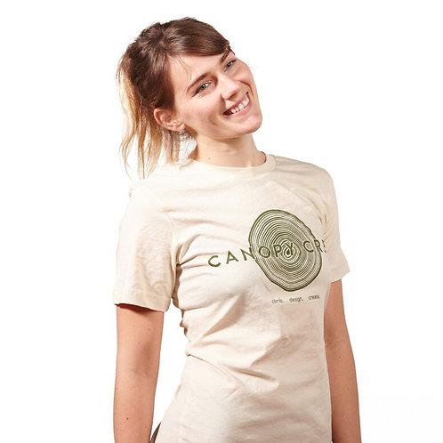Unisex Cream Canopy Crew Tee
