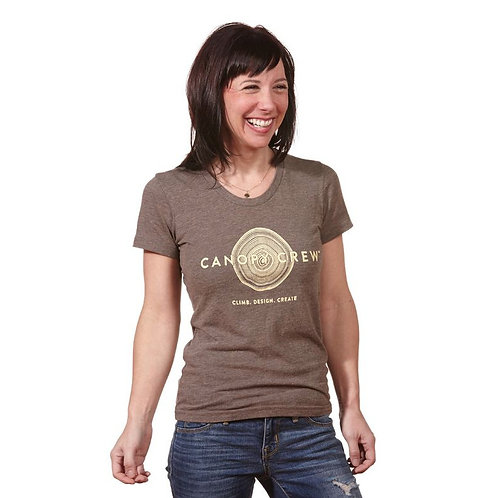 Men's & Women's Brown Canopy Crew Tee