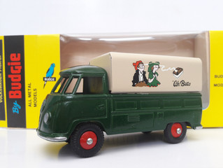 The small remaining quantity of discontinued 1980's Budgie Models no. 204 - Volkswagen single ca