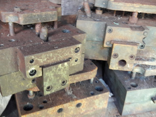 These are just a few of the original 1960s Budgie dies! Don't be fooled by the patina, they have