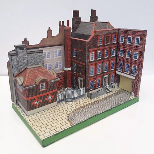 Dr. Johnson's House  -  A5 full colour card model kit