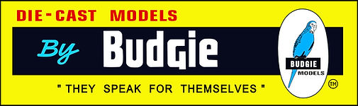 BUDGIE DIECAST METAL MODELS MADE IN ENLAND BRITISH DIECAST