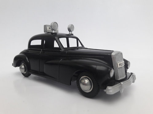 BUDGIE TOYS DIECAST METAL MODEL MADE IN ENGLAND WOLSELEY 6/80 POLICE PATROL CAR NO. 246 1:43 SCALE BRITISH DIECAST