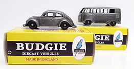 BUDGIE DIECAST MODELS MADE IN ENGLAND BRITISH DIECAST