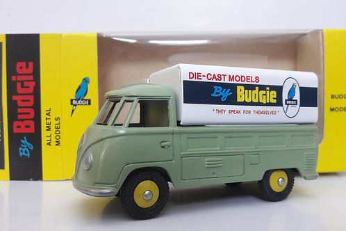 BUDGIE TOYS DIECAST METAL MODEL VW SINGLE CAB PICK UP TRUCK NO. 204 1:43 SCALE MADE IN ENGLAND