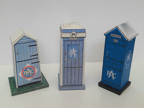 1920s 1930s 1940s 1950s RAC BOX BOXES CARD MODEL KIT 1:32 SCALE