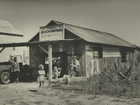 Fotografías del Proyecto de Investigación Nacional de la WPA, 1936-37