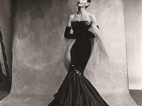 Foto icónica de Irving Penn de la primera supermodelo del mundo