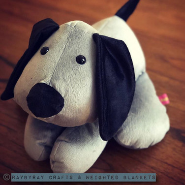 Weighted Dog - www.raybyraycrafts.com