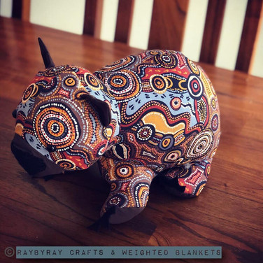 Weighted Wombat www.raybyraycrafts.com