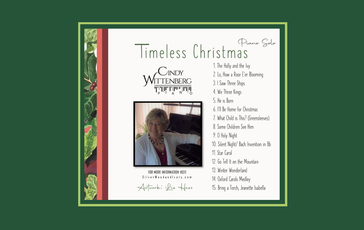 timeless christmas tray card for rotary