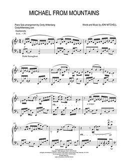 MICHAEL FROM MOUNTAINS Piano Solo page o