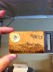 mantis united belt buckle elk hunting