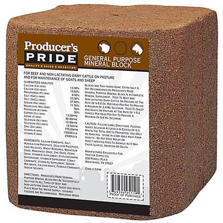 Mineral block