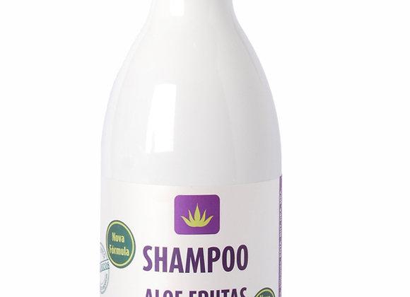 Shampoo Aloe Frutas, Uva e Noni 300ml Livealoe