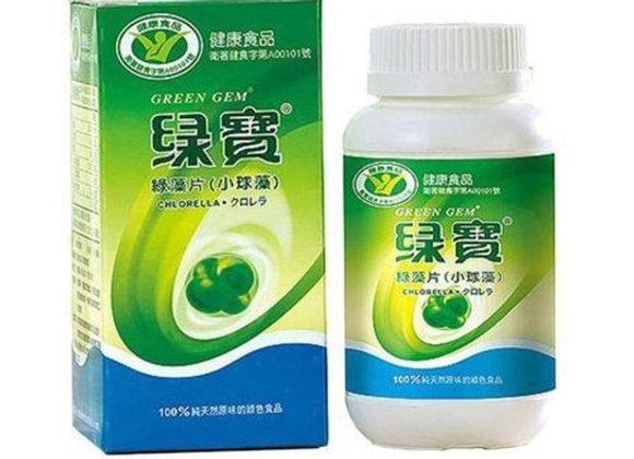 cópia de Chlorella Green Gem - 90g - 360 Comprimidos