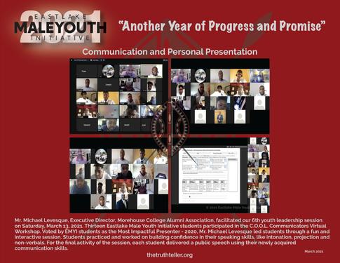EMYI March 2021 Newsletter