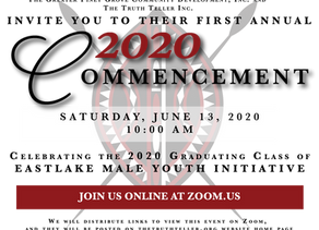 Eastlake Male Youth Initiative Will Host Its First Annual 2020 Commencement on June 13