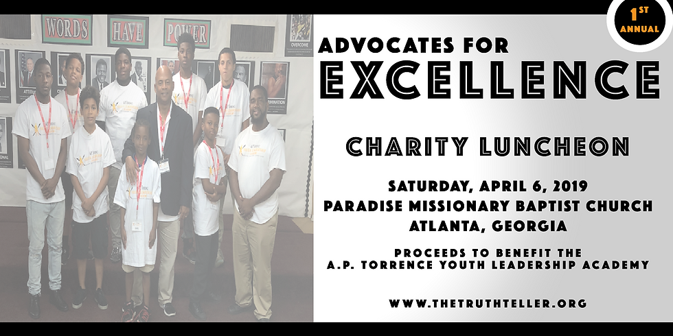 Advocates of Excellence Charity  Luncheon