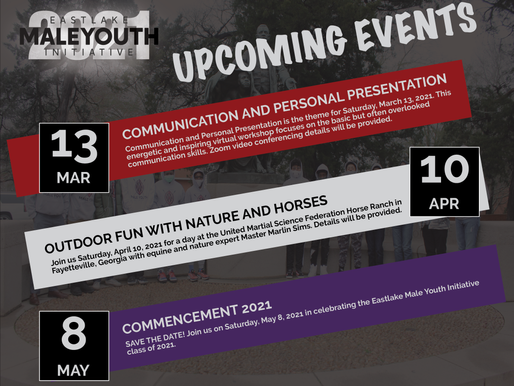 Eastlake Male Youth Initiative Announces Year-End Events