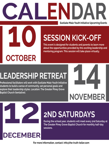 EMYI 2020 Activity Calendar