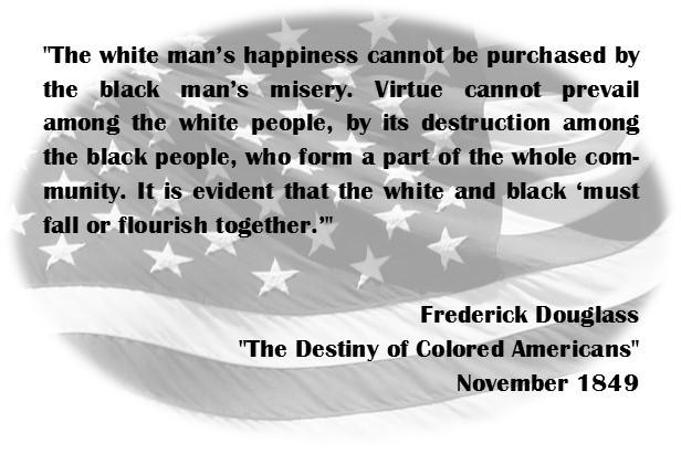 Frederick Douglass on the Charleston 9