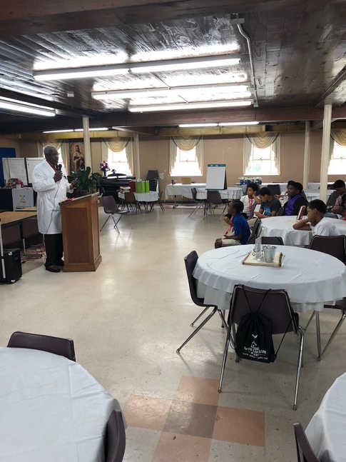 Dr. Jeffrey Howard Addresses Academy Students