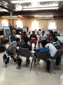 CEO Keith T. Parker Addresses Academy Students