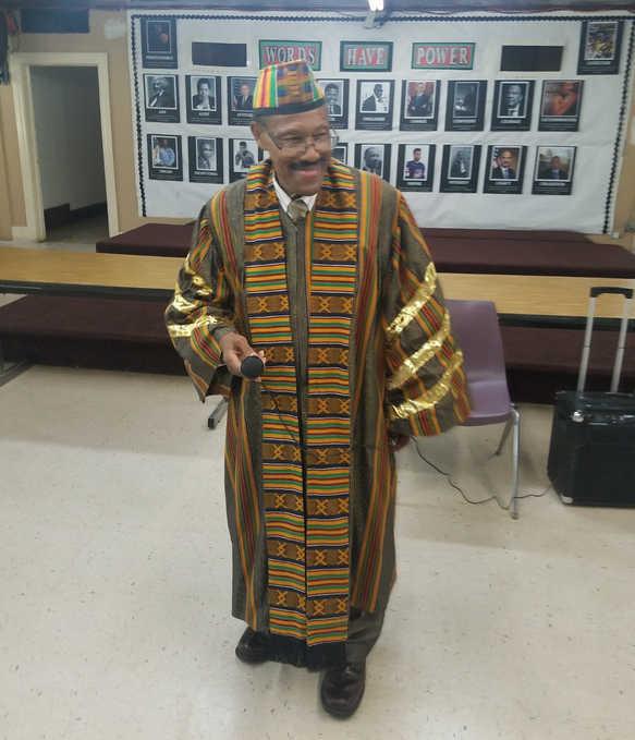 Dr. Roosevelt Walker Visits Academy Students