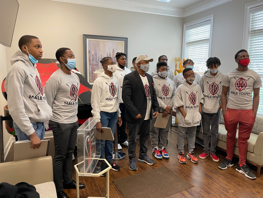 Eastlake Male Youth Initiative Students Explore the History of Reconstruction