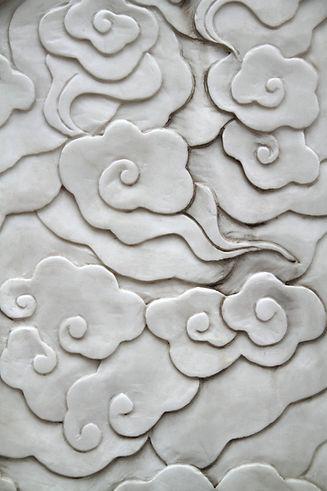 Asian style flower pattern on a wall.jpg