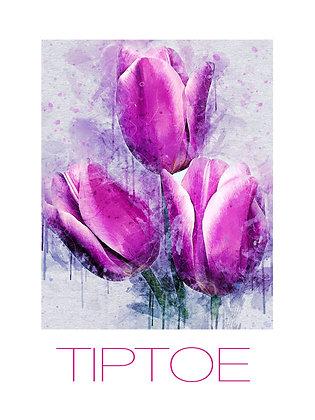 (Framed) Tiptoe