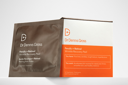 Dr Gross -Ferulic + Retinol Wrinkle Recovery Peel (16 treatments)