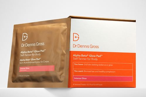 Dr Gross - Alpha Beta Glow Pad / Self-Tanner for Body (8 treatments)
