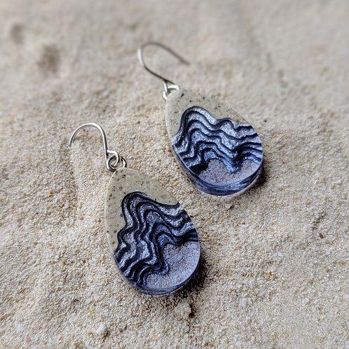 Seashore Dangle Earrings - Ultramarine