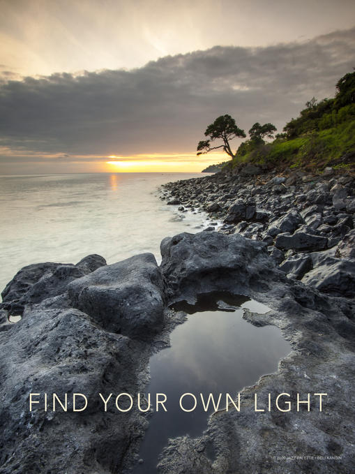FIND YOUR OWN LIGHT.