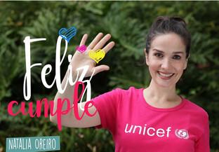 Unicef y múltiples cantantes se unen para brindarte un original regalo de cumpleaños