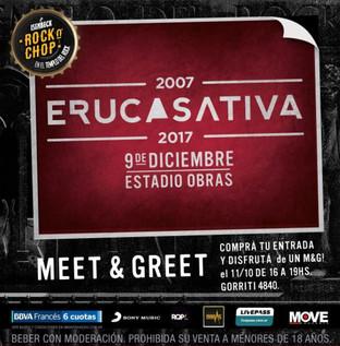 Eruca Sativa llega a Obras en el mes de Diciembre