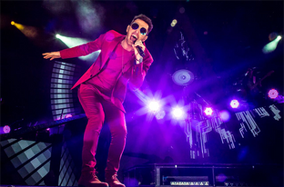 Axel presentó Ser ante 20mil personas en el Hipódromo de Palermo