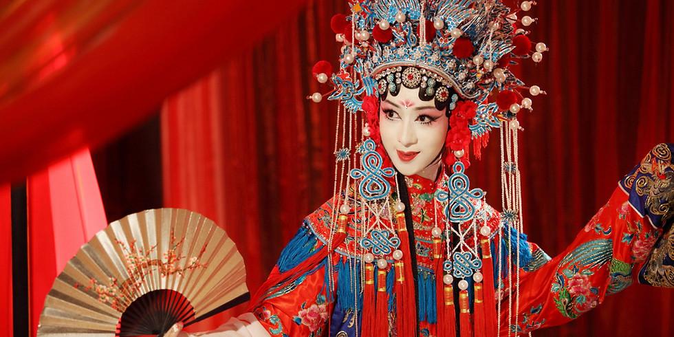 Выступление молодежного ансамбля пекинской оперы из г. Тяньцзинь