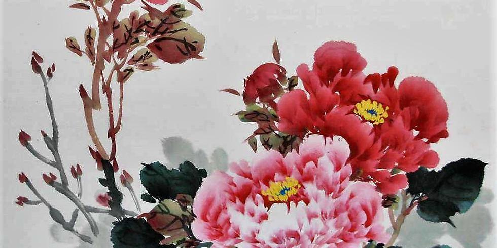 Мастер-класс по китайской живописи стиля сеи