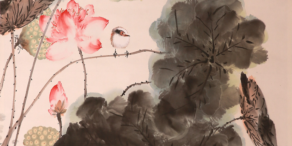 """Выставка работ современных китайских мастеров каллиграфии и живописи """"Сверкание гор и рек, сохранение дружбы на века""""."""