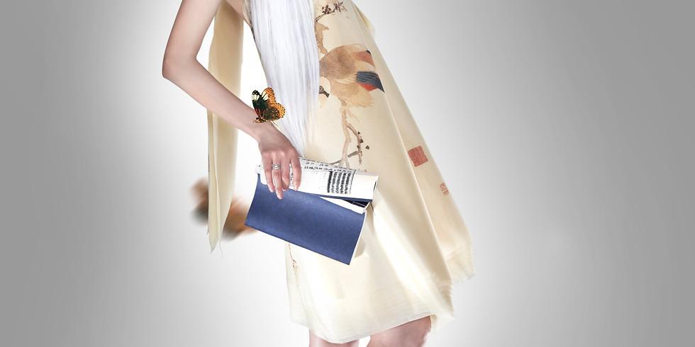 """Выставка """"Шелковая мода. 30 предметов одежды, рассказывающих о культурном наследии Китая""""."""