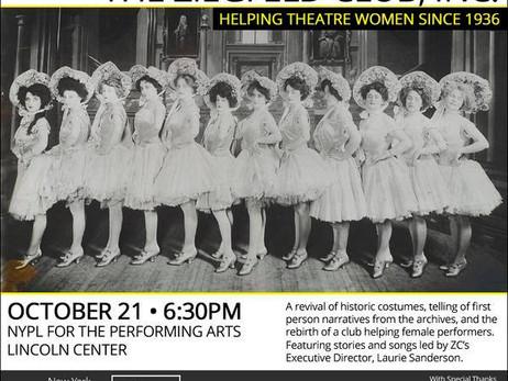 Lincoln Center NYPL honoring The Ziegfeld Club - Oct 21, 2014