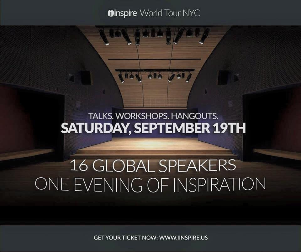 iinspire convention in NYC