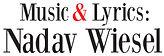 The Femme Fatale Show Logo, Nadav Wiesel composer and lyricist