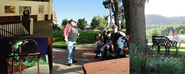 Haunted Corazon Ghost Tours, tell tales of GHOSTS, MURDER, and MAYHEM, in Trinidad, Colorado