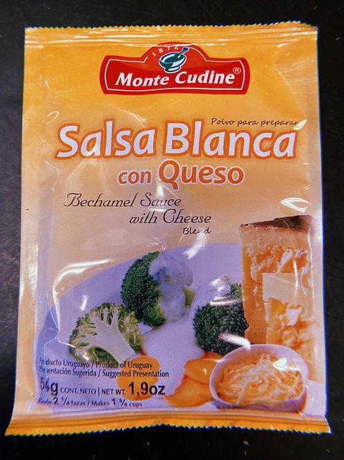 Monte Cudine Salsa Blanca con Queso
